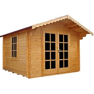 2 5m X 2 5m Summerhouse Garden Office Sheds Log Cabin