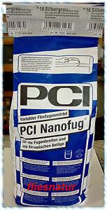 2 70 kg pci nanofug 4 kg 17 farben fugenm rtel fliesen flexfuge fuge badfuge ebay. Black Bedroom Furniture Sets. Home Design Ideas