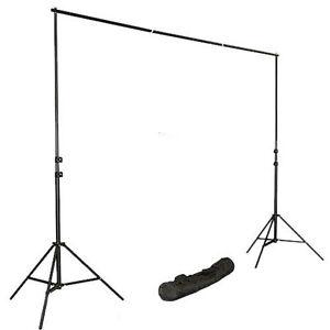 2-8x3m-Teleskop-Hintergrundsystem-Fotostudio-Stativ-Set-Hintergrund-Tasche