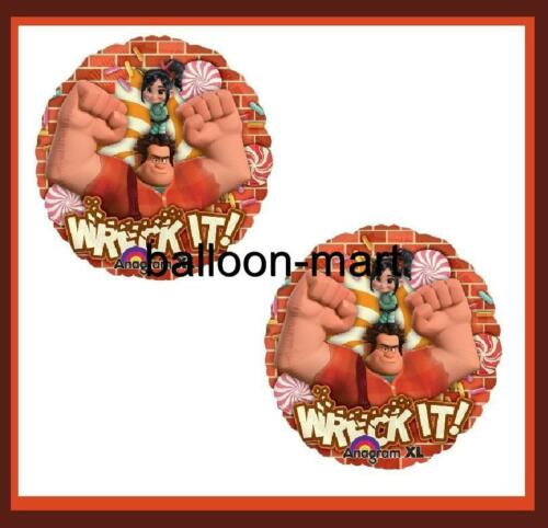 2-BALLOONS WRECK IT RALPH cartoon movie party supplies decoration birthday in Home & Garden, Greeting Cards & Party Supply, Party Supplies | eBay