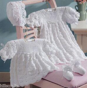 Online Crochet Patterns | Crochet Baby Christening Gown Patterns
