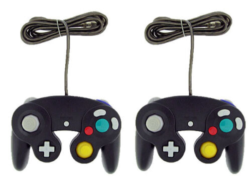 2 Black Shock Game Controller Pad for Nintendo Gamecube GC Wii NEW in Video Games & Consoles, Video Game Accessories, Controllers & Attachments | eBay