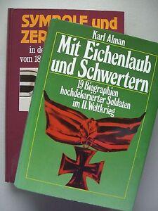 2-Buecher-Mit-Eichenlaub-Schwertern-Biografien-Symbole-Zeremonielle-Streitkraefte