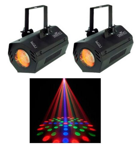 2 CHAUVET LX-5 Dance Club Stage Sound Activated LED DJ Moonflower Effect Lights in Musical Instruments & Gear, Stage Lighting & Effects, Stage Lighting: Single Units | eBay