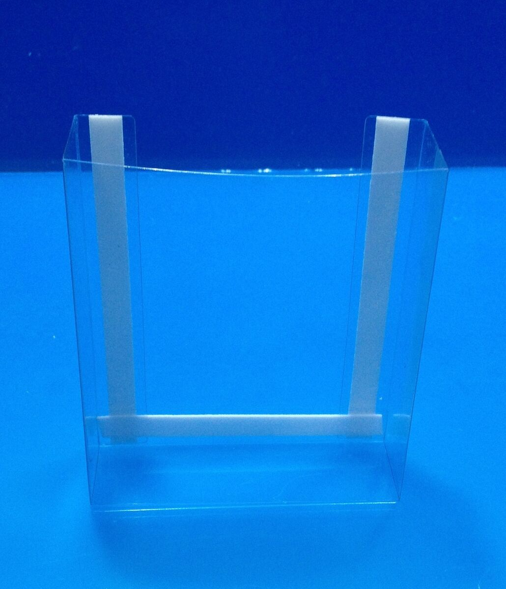 2 Clear Wall Mount Tri Fold Brochure Holder These Will Mount to Any Flat Surface