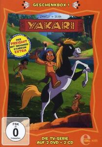 2-DVDs-2-CDs-YAKARI-GESCHENKBOX-1-NEU-OVP