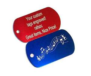 2 Engraved Custom Metal Luggage Tags Personalized tag in Travel, Luggage Accessories, Luggage Tags | eBay