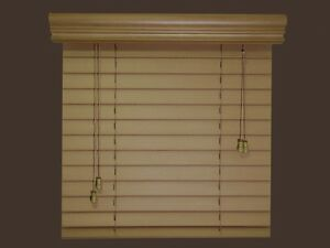 2 fauxwood window blinds 54 x 72 real wood look 4 for 12 inch wide window blinds