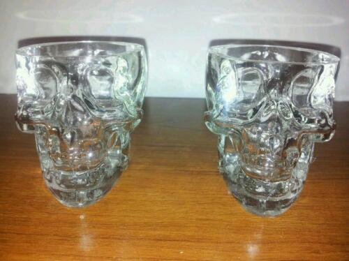 2 GLASS Authentic CRYSTAL HEAD VODKA Shot Glasses FROM DAN AYKROYDS BAR LINE in Collectibles, Barware, Shot Glasses | eBay