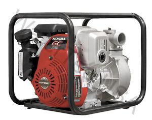 2 Gas Centrifugal Water Pump 5 Hp Honda 2 Year Motor 1 Year Pump Warranty Ebay