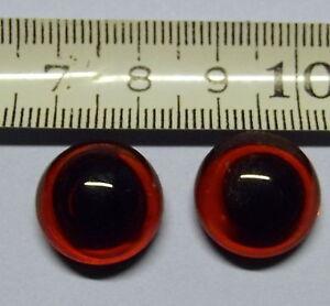 2 glasaugen 12 mm f r porzellan figuren rauchverzehrer tiere zum kleben ebay. Black Bedroom Furniture Sets. Home Design Ideas