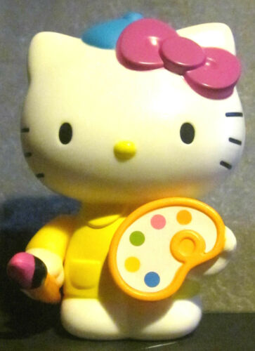 Hello Kitty Toy Food : Hello kitty loves painting mcdonalds happy meal
