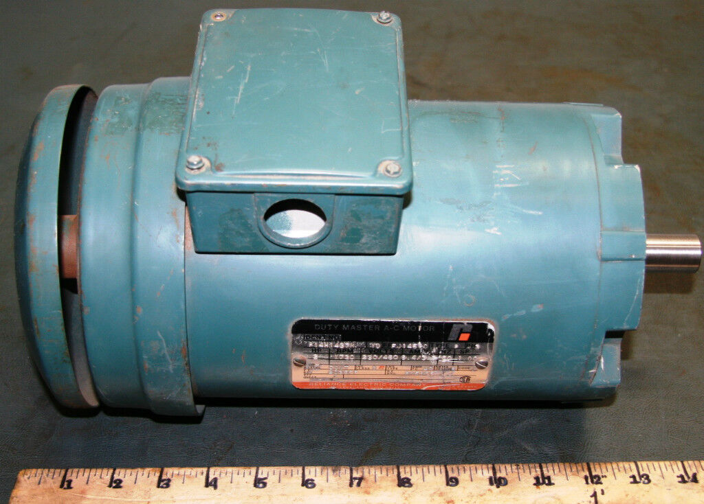 Hp ac electric motor reliance duty master for Duty master ac motor reliance electric