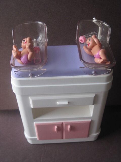 Happy Family Barbie Baby Newborn Furniture Used