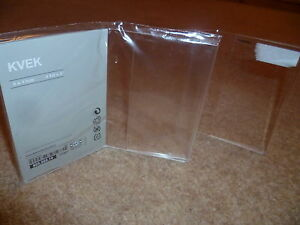 2 ikea kvek twin frameless photo picture frames 9 x 13cm