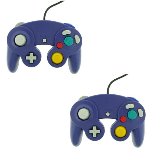 2 Indigo Shock Game Controller Pad for Nintendo Gamecube GC Wii in Video Games & Consoles, Video Game Accessories, Controllers & Attachments | eBay