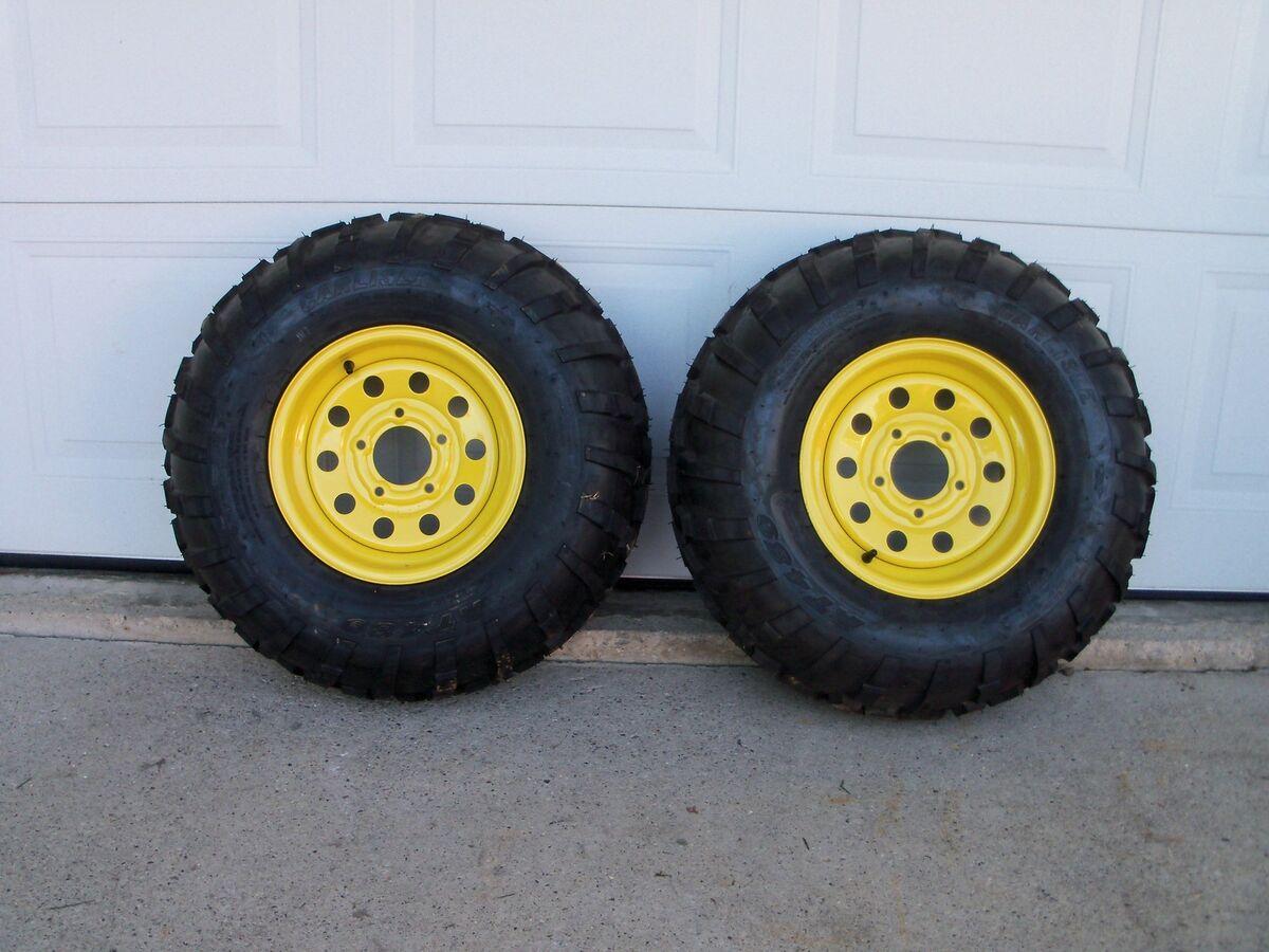 John Deere Gator Carlisle at 489 Tires Rims 25 X11X 12