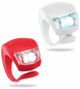 2-LED-Frontlicht-Ruecklicht-Fahrrad-Farben-Fahrradlicht-Silikon-Fahrradlampe-NEU