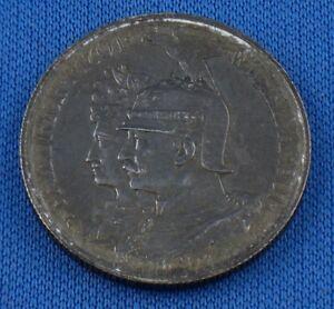 2-Mark-Muenze-Silber-1901-A