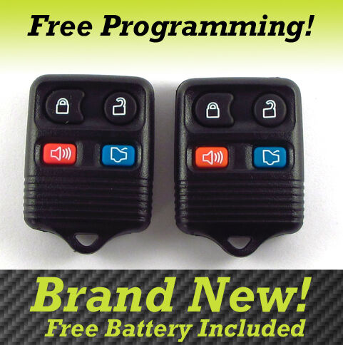New 1998 2010 Lincoln Town Car 4 Button Keyless Entry Remote Key Fob