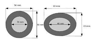 2-Ohrpolster-Kopfhoerer-50-mm-zB-fuer-Sony-MDR-62-MDR-6-MDR-110-LP-MDR110-usw