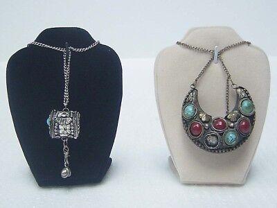 PCS mini bust Jewelry Necklace Display Stand JD001c08