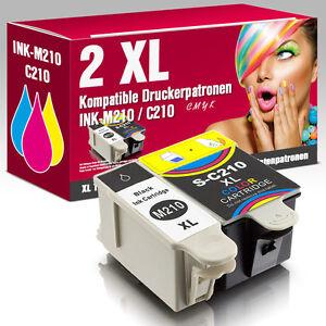 2-Patronen-fuer-Samsung-CJX-1000-CJX-2000FW-CJX-1050W-INK-M210-M215-INK-C210