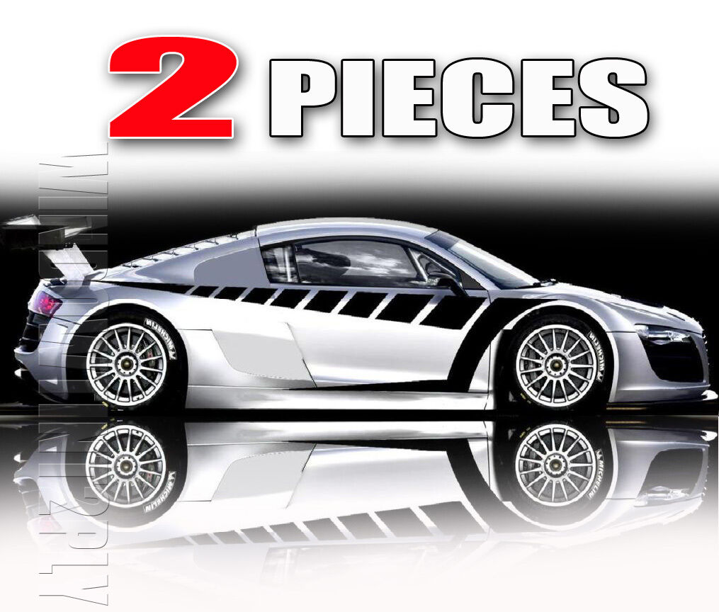 2 Pieces Body Graphics Stickers Decal Vinyl Car Truck 2P10
