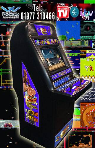 Used Cabinets For Sale >> street fighter mame arcade machine for sale