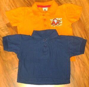 2 Poloshirts, blau und orange, Größe 74, sehr gut erhalten, getragen - Deutschland - 2 Poloshirts, blau und orange, Größe 74, sehr gut erhalten, getragen - Deutschland