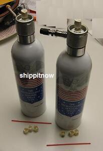2 Refillable Aerosol Spray Can Compressed Air Airbrush Ebay