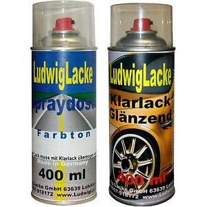 2-Spray-im-Set-1x-Autolack-1x-Klarlack-400ml-fur-SEAT-Gris-Track-LW7Z