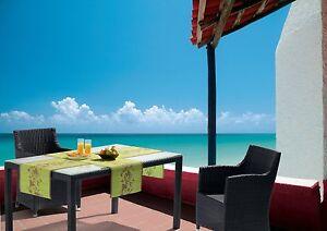 2 stk tischl ufer miami f r innen au en 40x150 cm. Black Bedroom Furniture Sets. Home Design Ideas