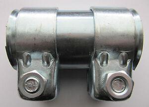 2-Stueck-Auspuff-Doppelschellen-Rohrverbinder-46-x-90mm