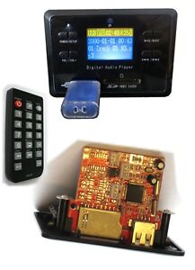 2-Stueck-OEM-MP3-DIY-USB-Player-FM-UKW-Radio-kit-Bausatz