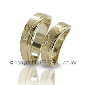 2-Trauringe-Hochzeitsringe-Verlobungsringe-Eheringe-Partnerringe-Ringe-Gravur