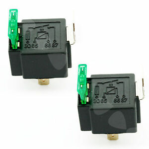 2 x 30a 12v car can boat 4 pin fuse relay on fused switch for spotlamps fog ebay