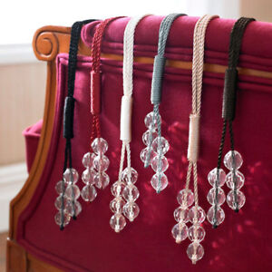 DESIGNER CURTAIN TIE BACKS | Curtain Design