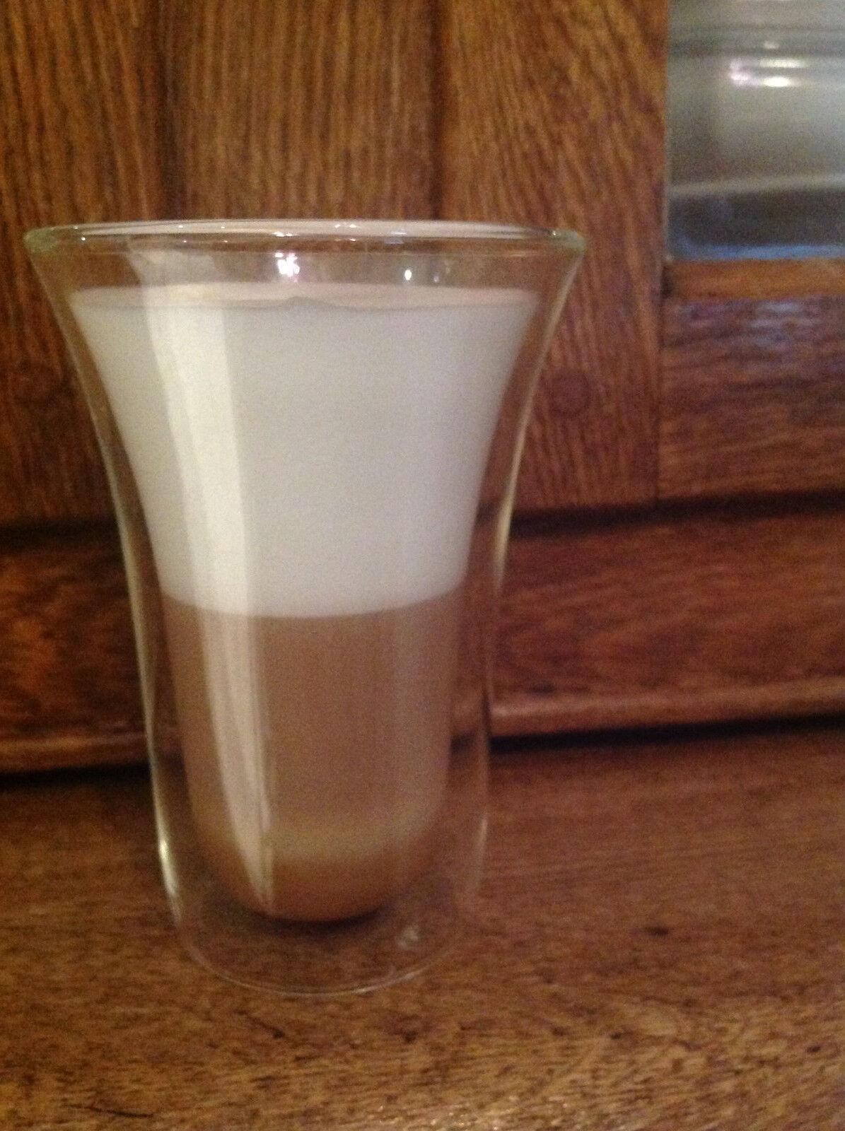 2 doppelwandige gl ser kaffee latte macchiato 11 cm top. Black Bedroom Furniture Sets. Home Design Ideas