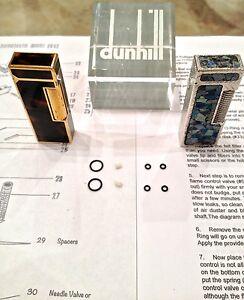 Dunhill Rollagas lighter repair Manual