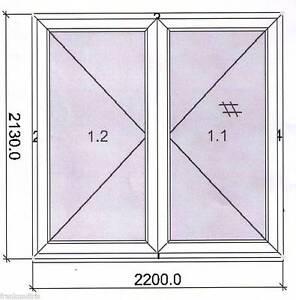 2 flg kunststoff terrassent r wei profil sch co neu nach au en ffnend ebay. Black Bedroom Furniture Sets. Home Design Ideas
