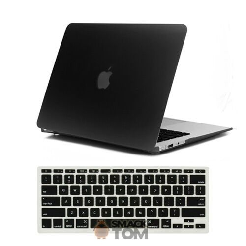 2 in 1 black silicone rubberized hard case + keyboard skin for macbook air 11 in Computers/Tablets & Networking, Laptop & Desktop Accessories, Laptop Cases & Bags | eBay