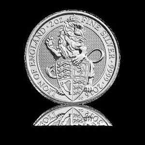 2-oz-999-Silber-Silbermuenze-Grossbritannien-Queens-Beasts-Loewe-2016-62-2-Gramm