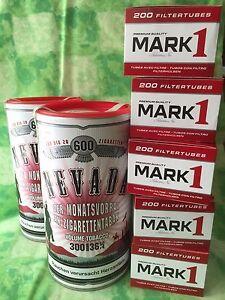 2-x-300g-Nevada-Tabak-Feinschnitt-Volumentabak-Bis-zu-600-Zigaretten-Huelsen