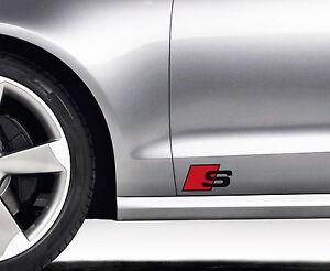 2-x-Audi-S-line-Aufkleber-fuer-Seitenschweller-A3-A4-A5-A6-RS-TT-Q7-Emblem-Logo-S