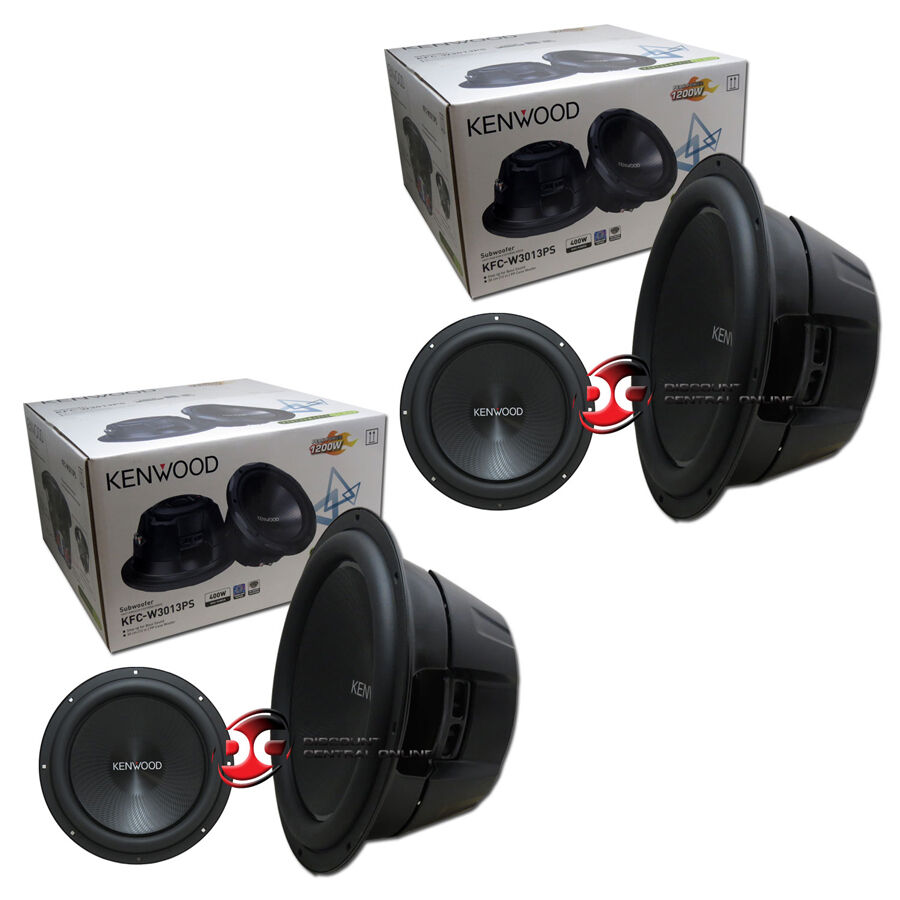 Kenwood Kfcw112s 1600w Performance Series 12quot Subwoofer
