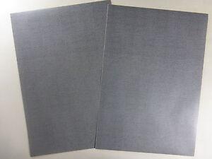2-x-Strasse-Klebefolien-296mm-x-205mm-graues-Pflaster-Spur-N