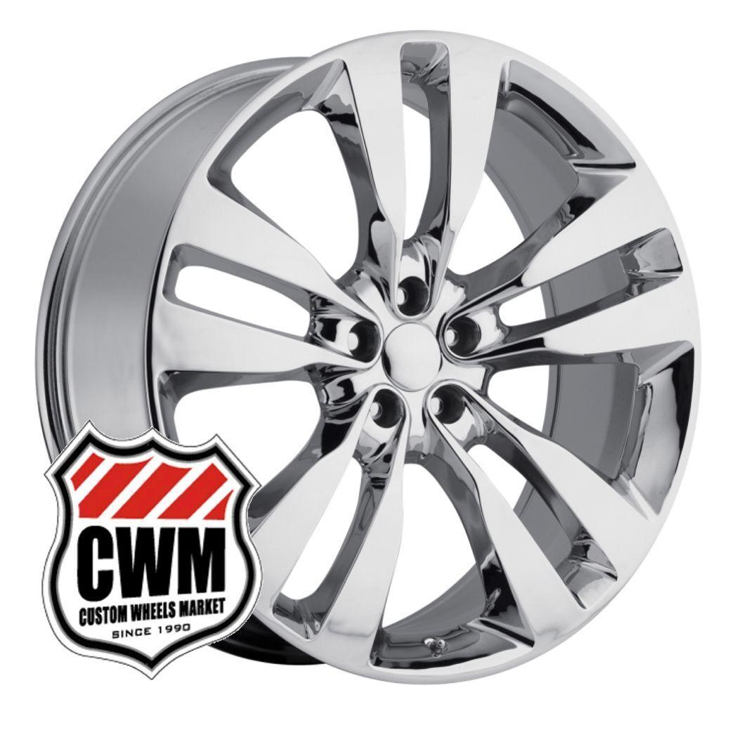 "20"" 2012 Dodge Charger SRT8 Replica Chrome Wheels Rims Fit Chrysler 300 05 14"