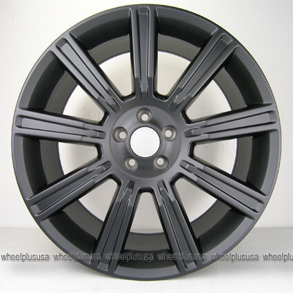 "20"" 20x9 5 Range Rover Evoque Wheels Rims 5x108 Matte Black 4 New"