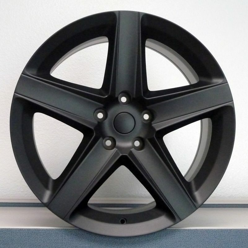 20 20x9 Satin Black Jeep SRT8 Cherokee Commander Rims Tires and